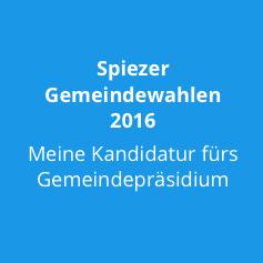 Gemeinderatswahlen Spiez 2016