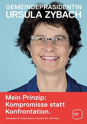 Gemeindepräsidentin Ursula Zybach